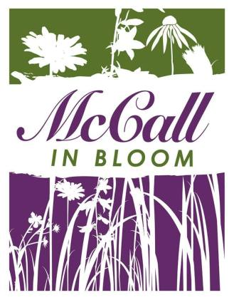 McCall banner Mccall in Bloom