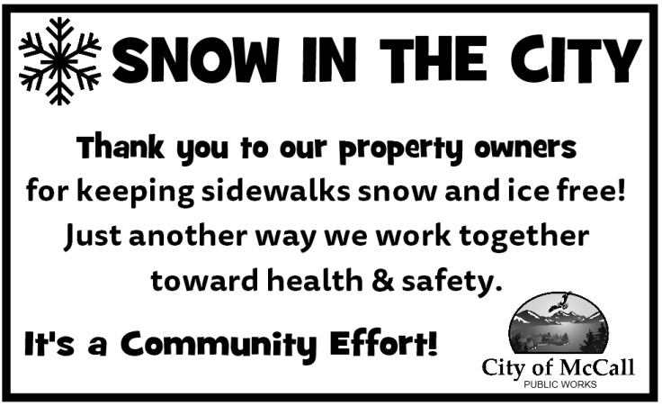 Snow in the City series thanks for clear sidewalks.jpg