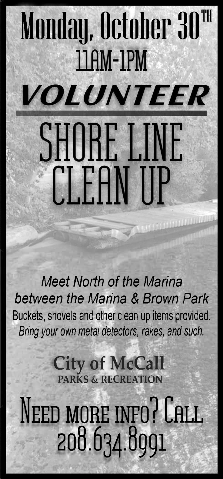Oct 30th Shoreline Cleanup