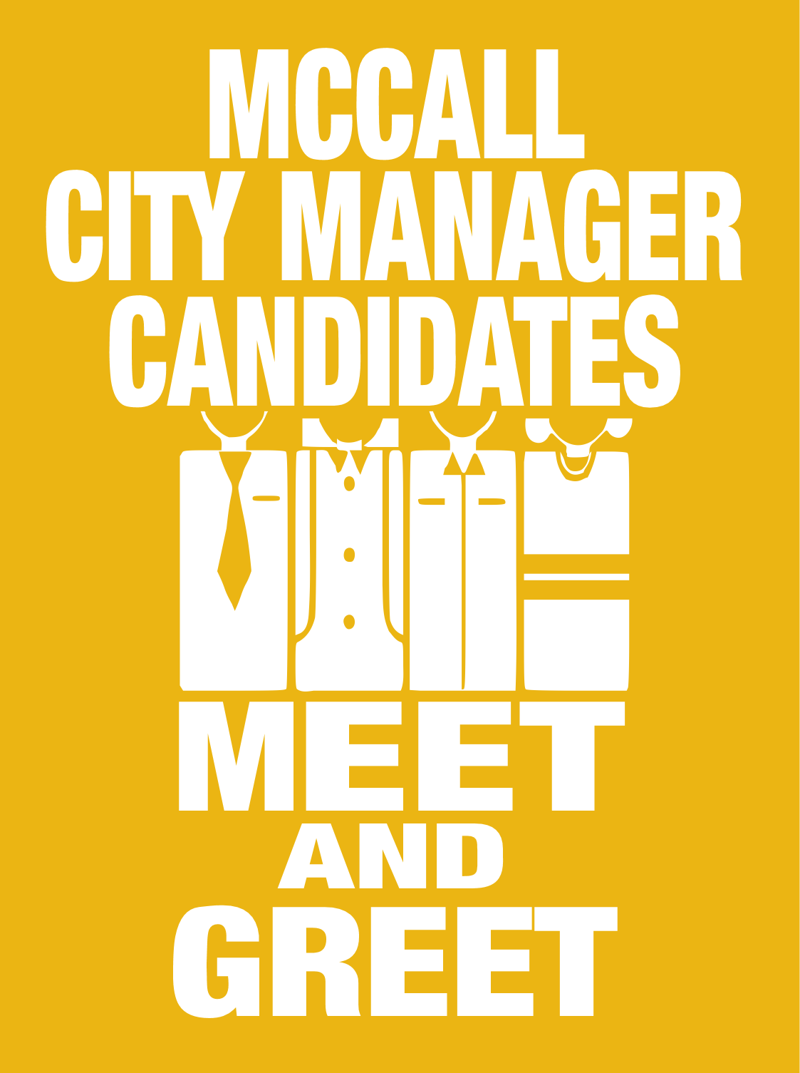Three finalists for the city manager available for meet and greet three finalists for the city manager available for meet and greet dec 7th kristyandbryce Gallery