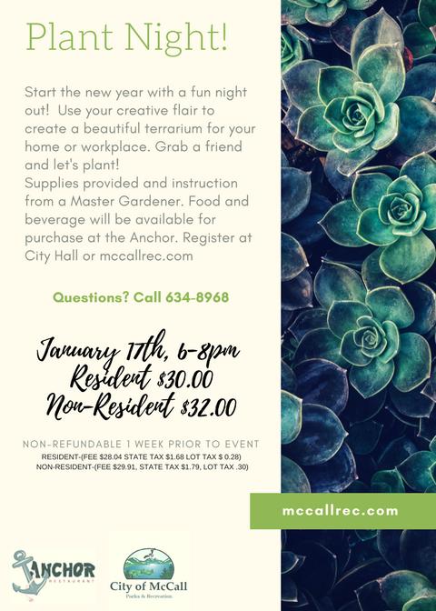 Plant Party! Jan-17