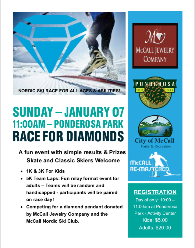 Race 4 Diamonds Flyer 18