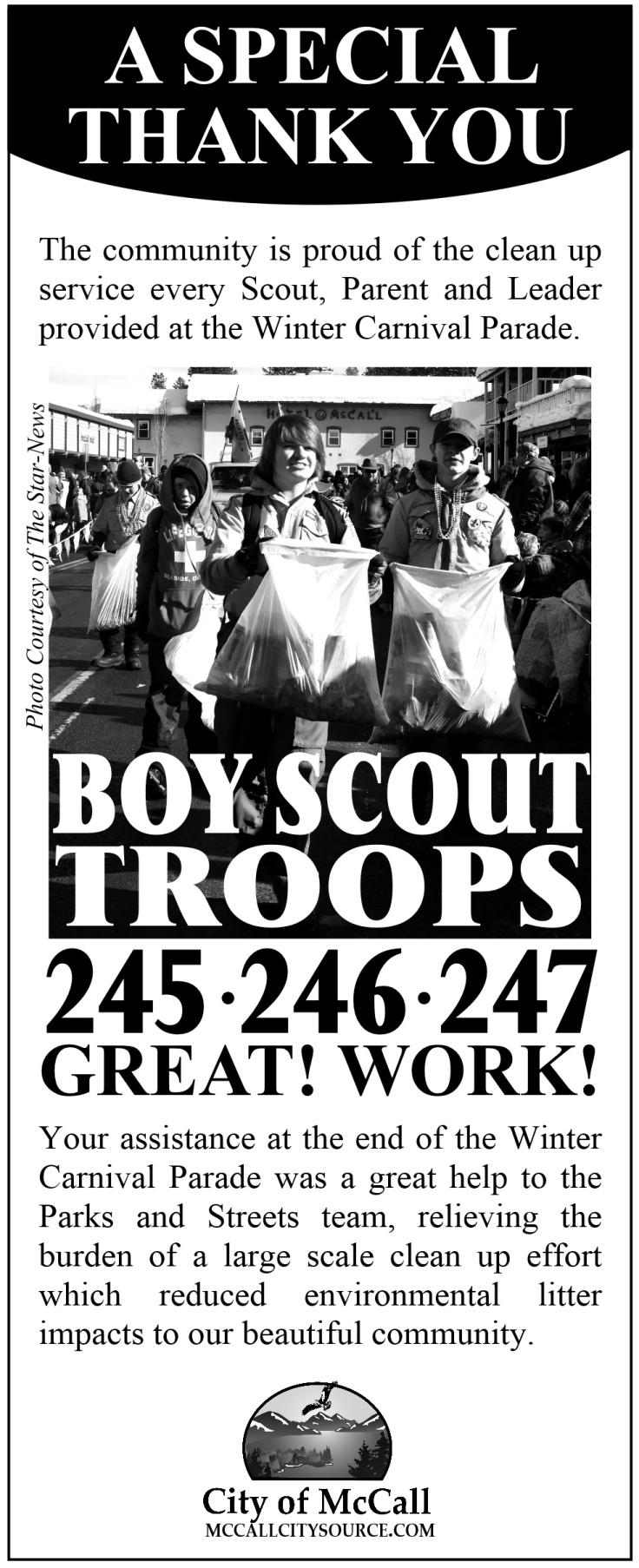 Boy Scout Thanks 2018
