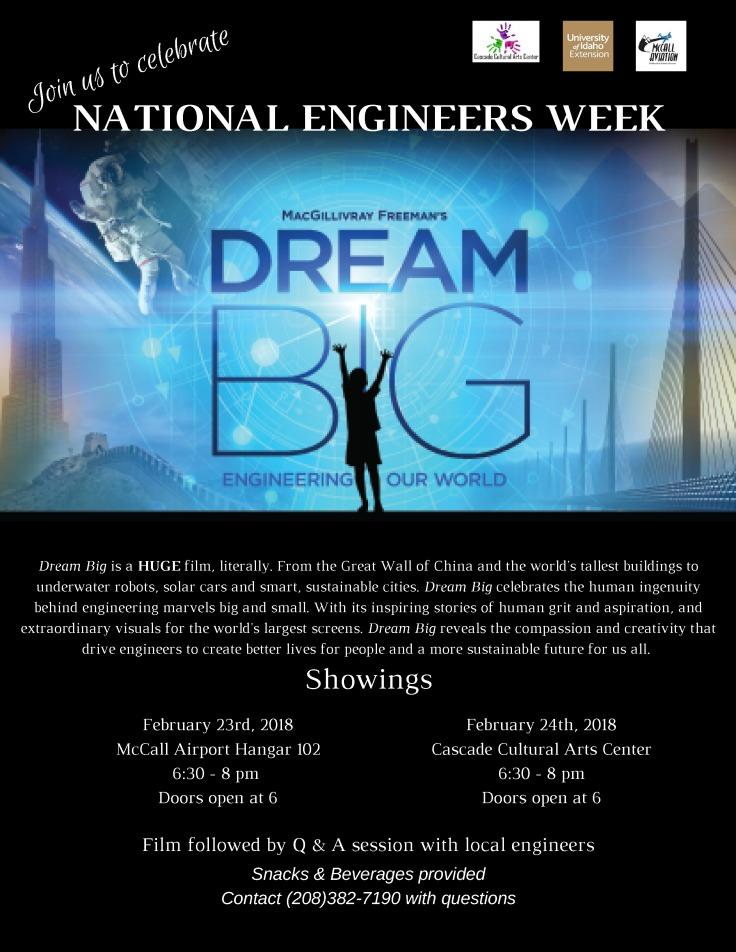 national engineers week Flyer